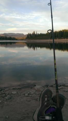 lake and feet