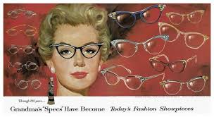fashion eyewear in the olden days